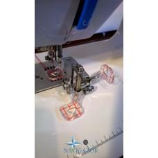 Лапка для квилтинга и вышивания с линейкой