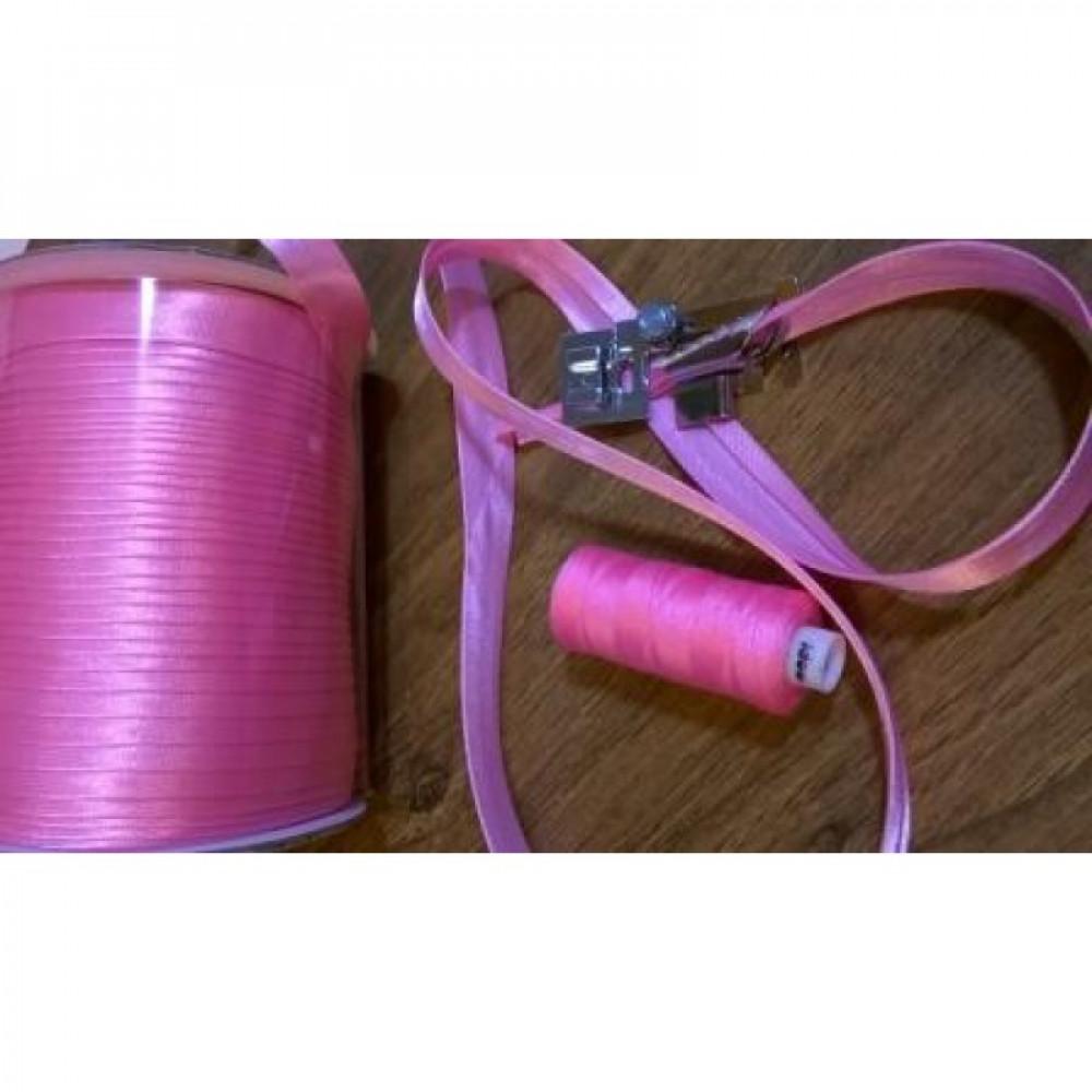 Косая бейка светло-розовая № 64