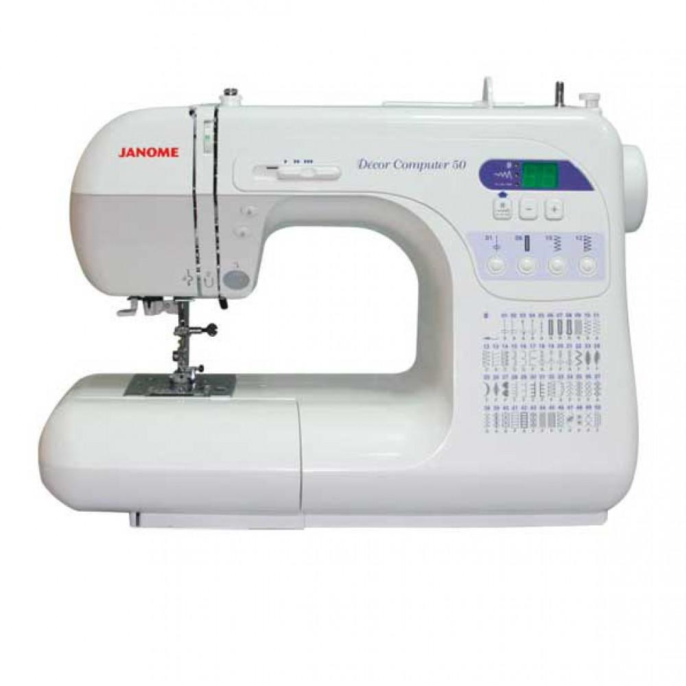 Бытовая швейная машина JANOME DC 50