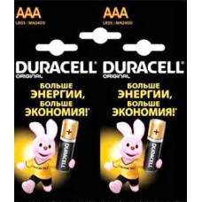Батарейка Duracell AAA LR03/MN2400