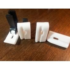 T69LK лапка фторопластовая под кедер 4 мм короткая (к-т)