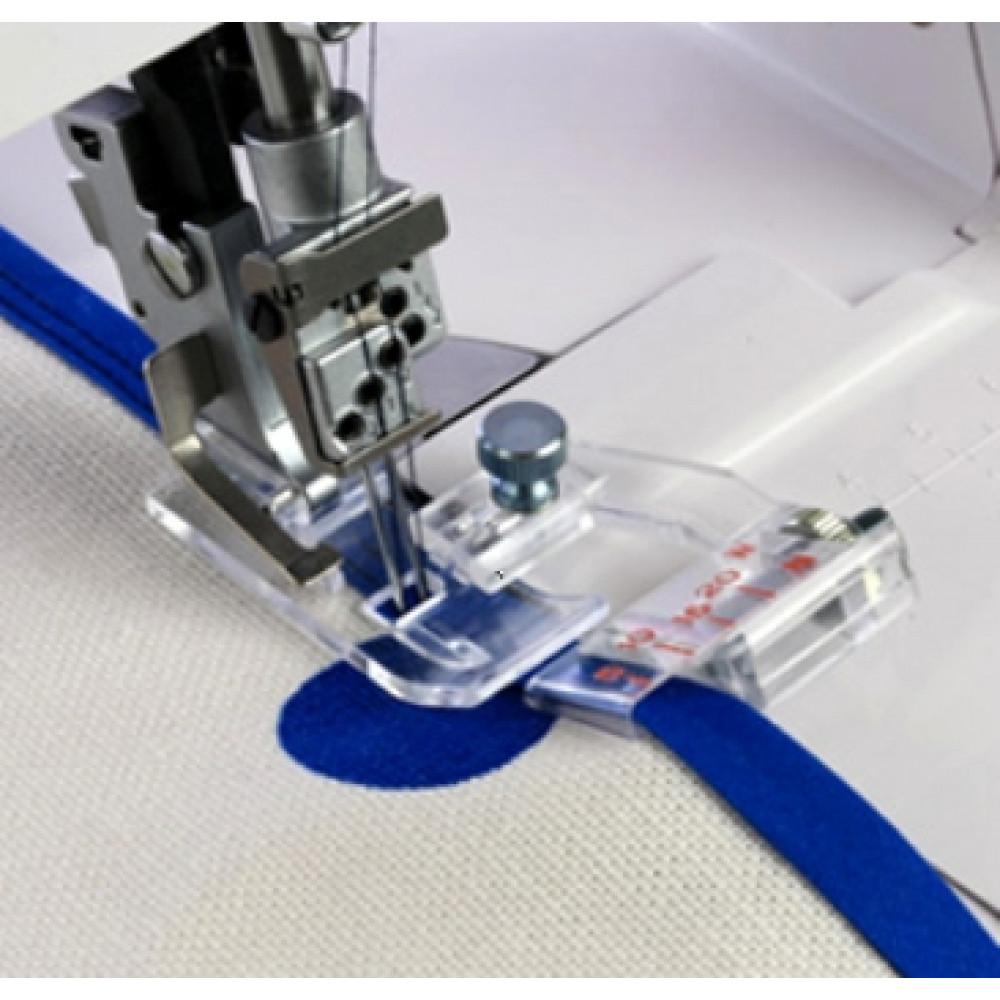 Окантователь с регулировкой для косой бейки до 20 мм