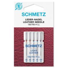 Иглы для кожи Schmetz Leather № 80-100 ассорти