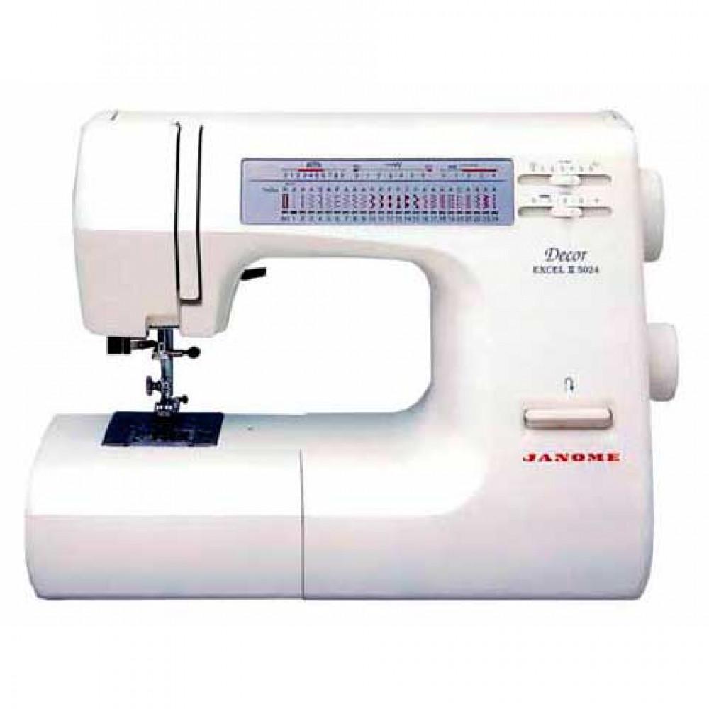 Электромеханическая швейная машина JANOME Décor Excel II 5024