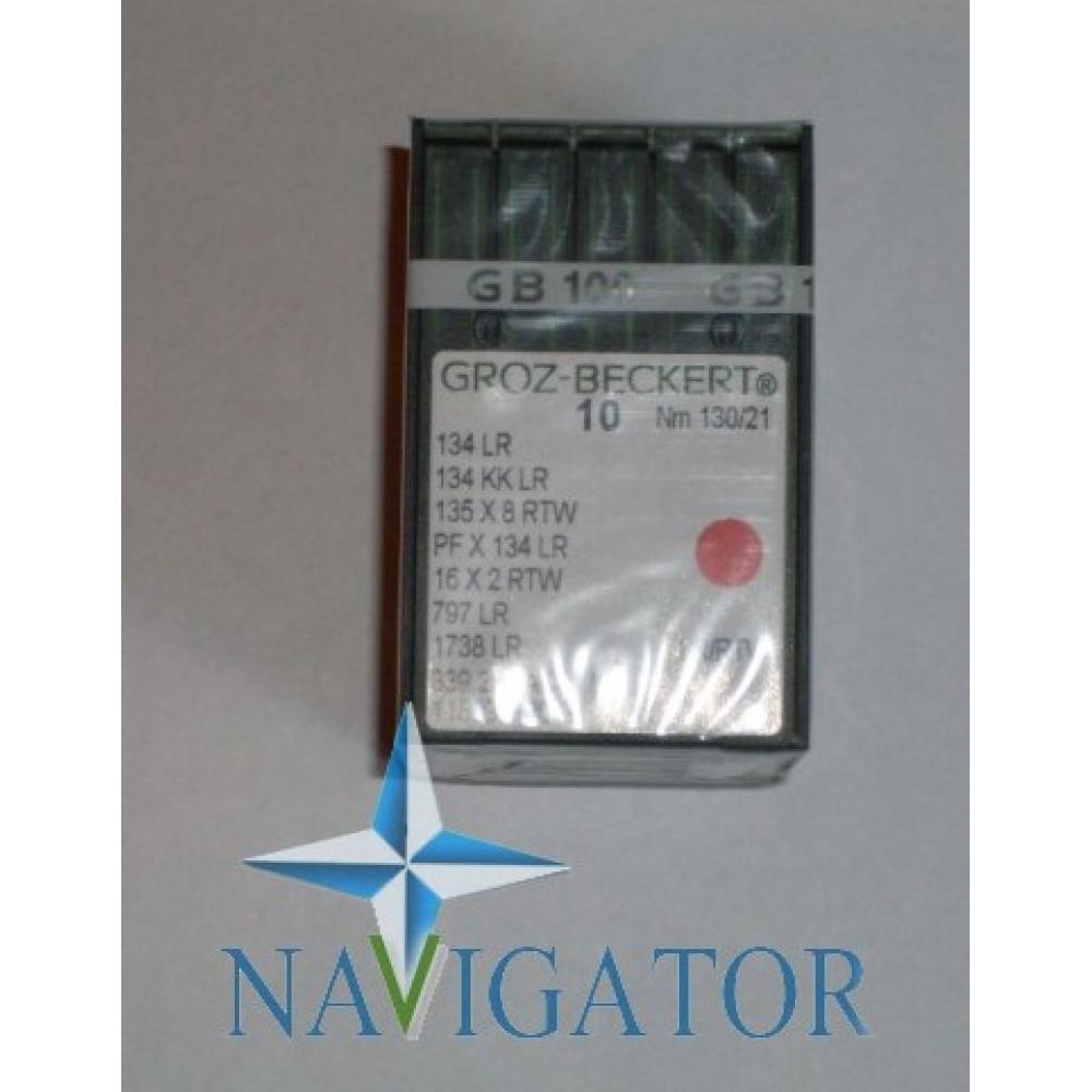 Игла 134 LL(LR) для кожи № 70, 100 шт