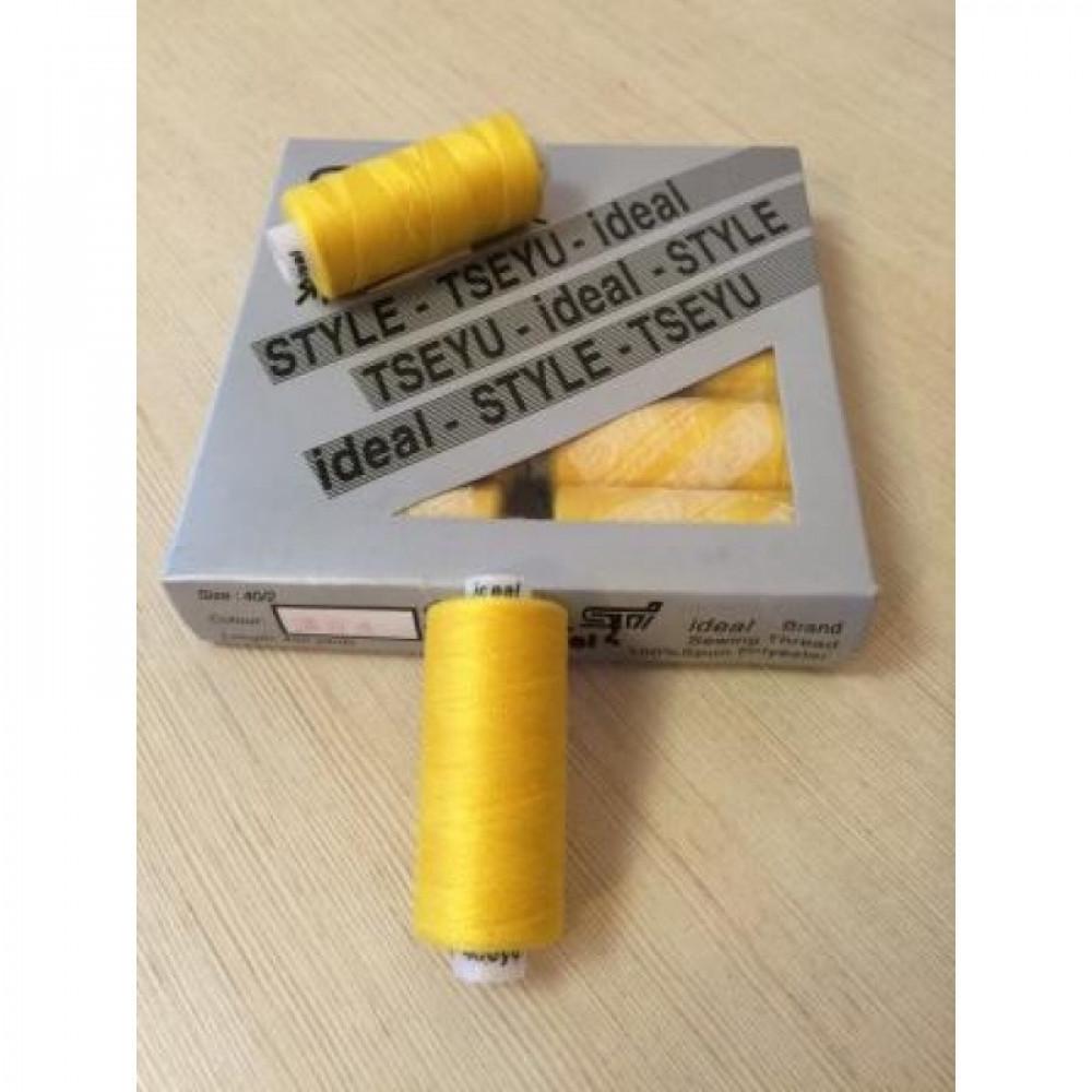 Нить ярко-желтая IDEAL № 384