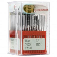 Бытовые швейные иглы Dotec HAx1, BP SES 705H 12/80 100 шт.