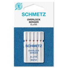 Иглы для оверлока Schmetz Overlock № 80