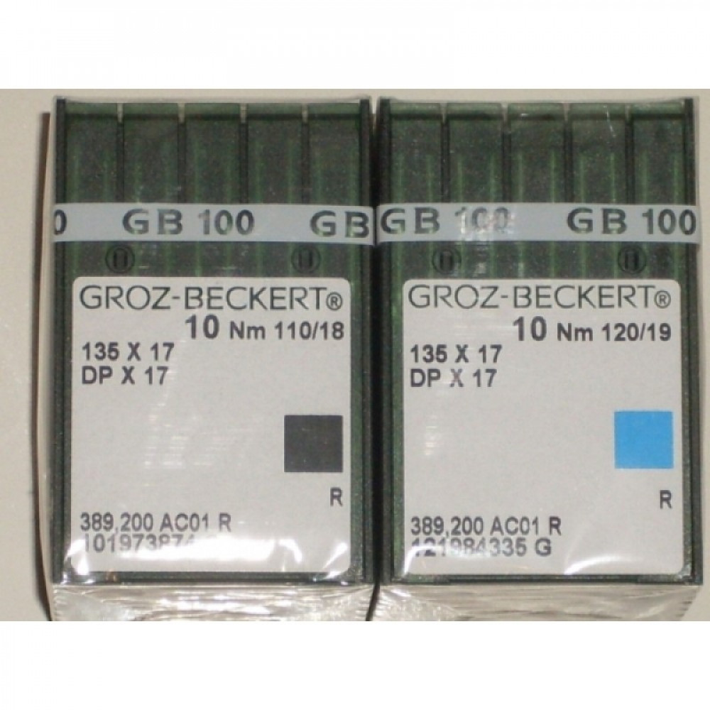 Промышленные швейные иглы 135х17, DPх17 №80 упаковка 10 шт