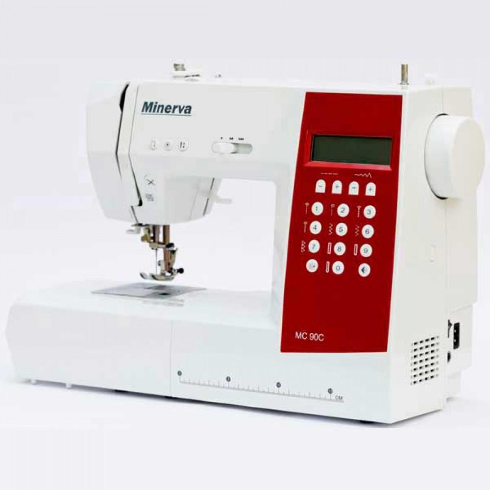 Компьютерная универсальная швейная машинка MINERVA MC90C