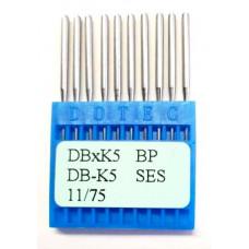 Промышленные швейные иглы Dotec DBxK5 BP SES 11/75 10 шт.