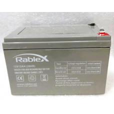 Аккумулятор Rablex 12V 12AH (20HR)