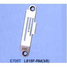 Игольная пластина E705T 9.5 мм Siruba