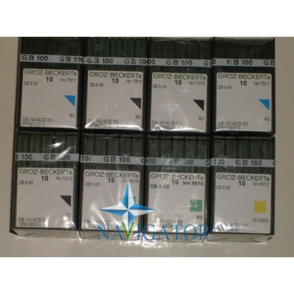 Игла DBXK5, вышивальная 100 шт.