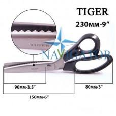 Ножницы портновские Tiger A-85 зигзаг 5 мм