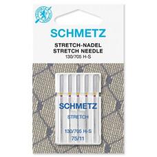 Иглы для трикотажа Schmetz Stretch № 75