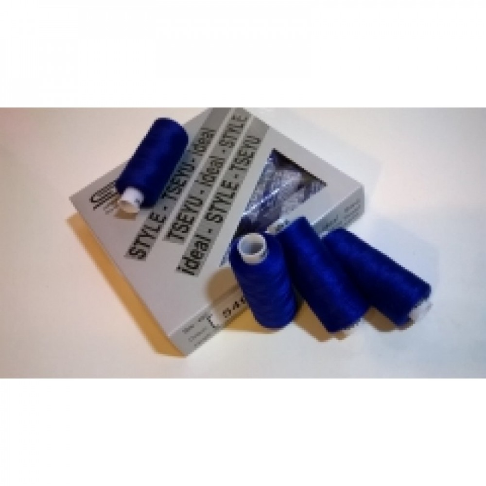 Нить синий электрик Ideal № 549