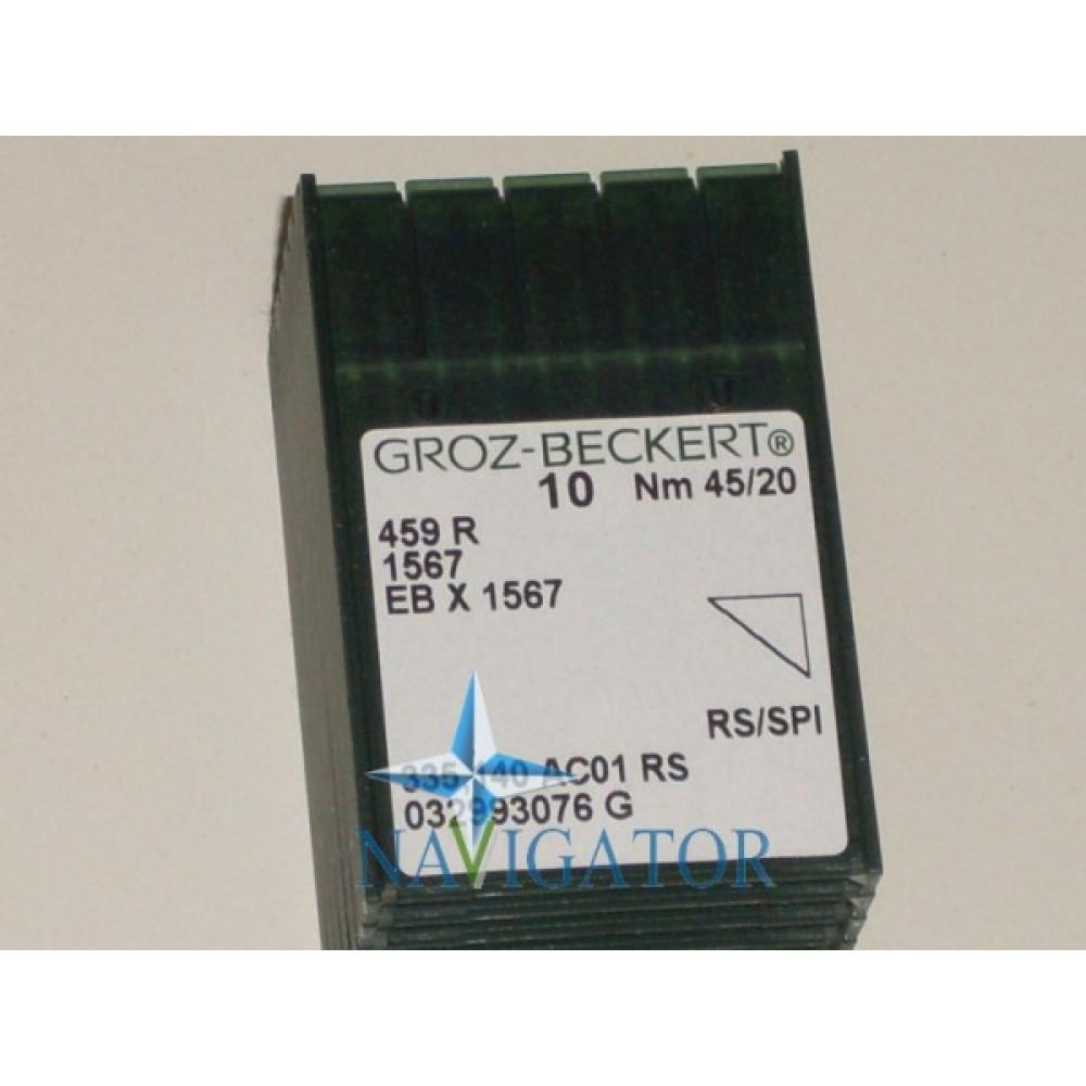 Игла 459R / 1567 / EBx1567 № 45/20, цена за 10 шт.