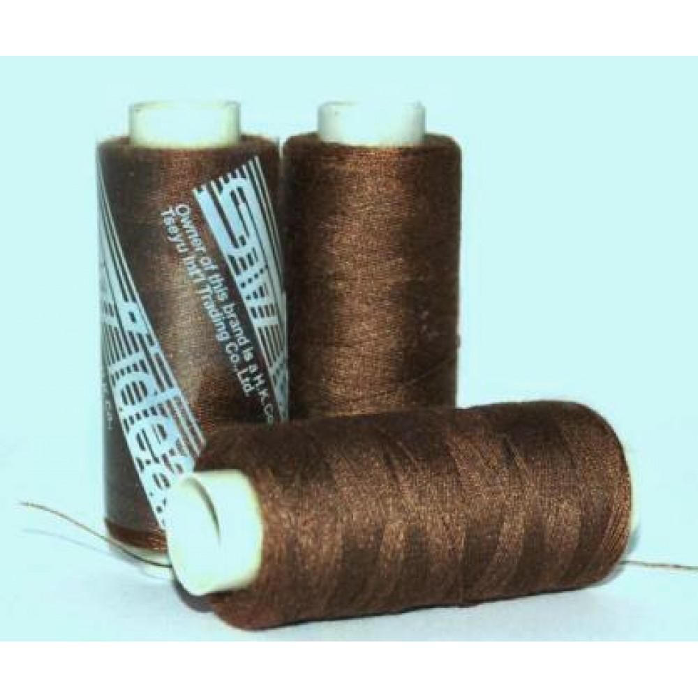 Нить светло-коричневая Ideal № 490