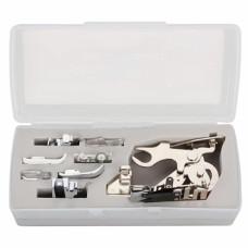 Набор лапок для бытовых швейных машин + аппарат для складок