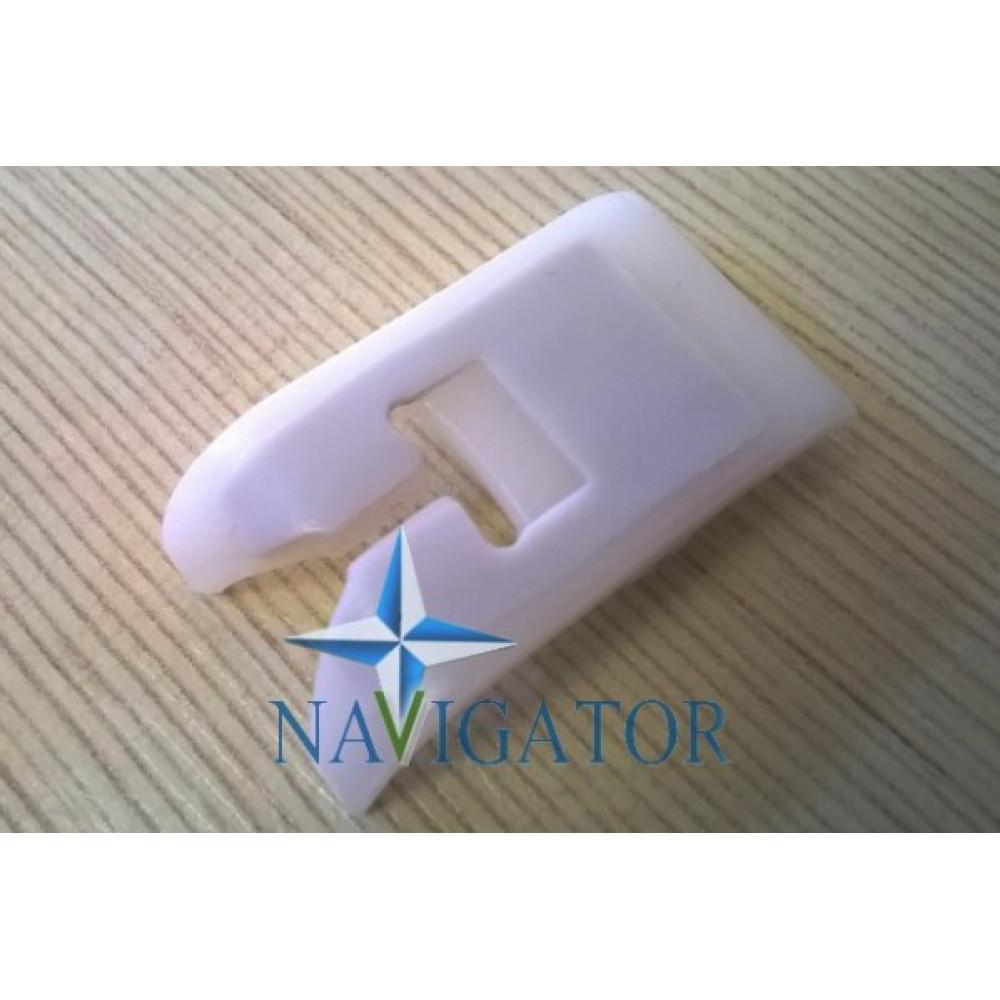 Лапка фторопластовая с тефлоновой напайкой