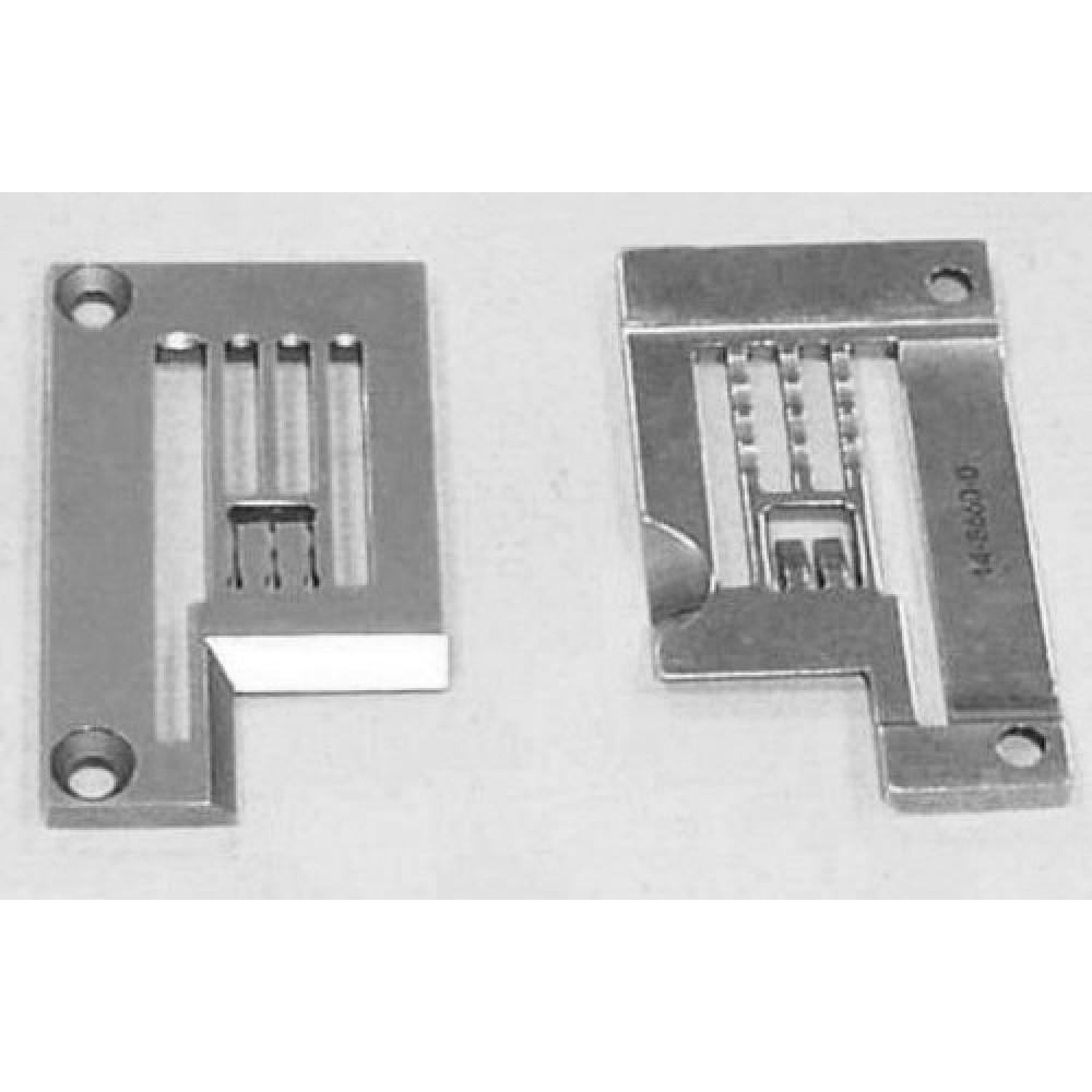 Игольная пластина 14-866 6,35 мм KANSAI